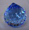 Ball 30mm (Swarovski)(coloured) ― Crystals NZ